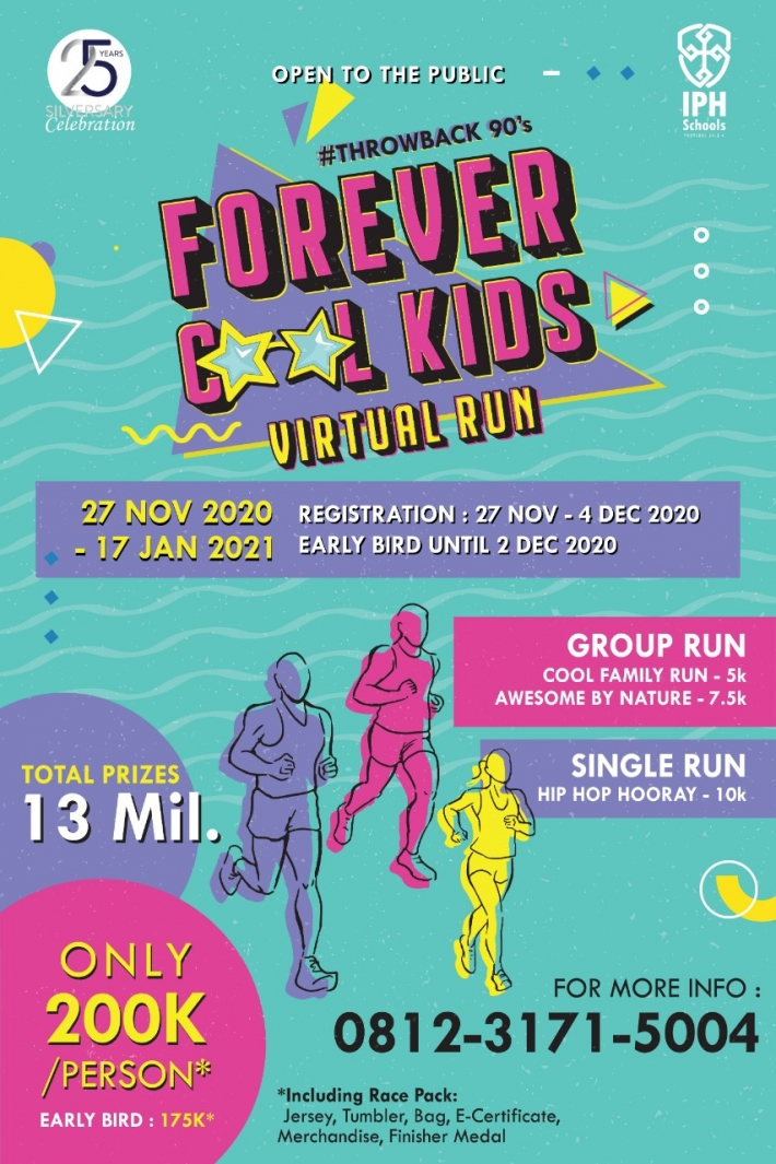 #Throwback90s - Forever Cool Kids Virtual Run