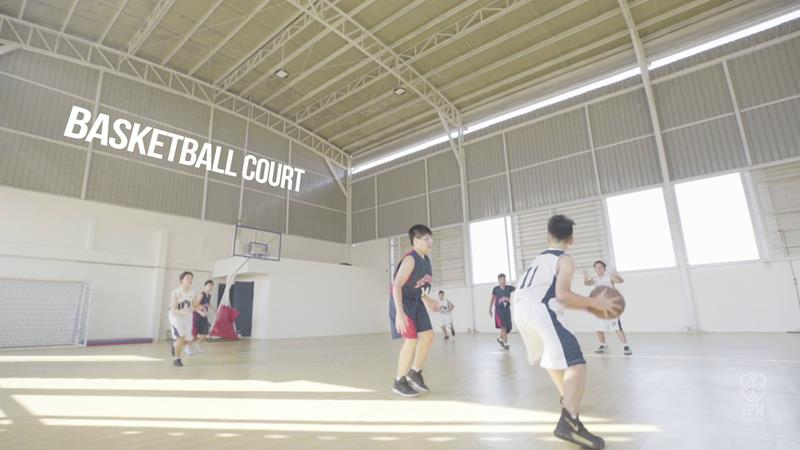Basketball Court West
